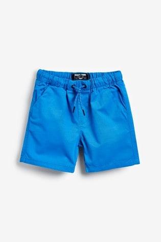 Blue Pull-On Shorts (3mths-7yrs)
