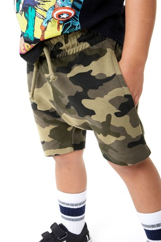 Camouflage Shorts (3mths-7yrs)