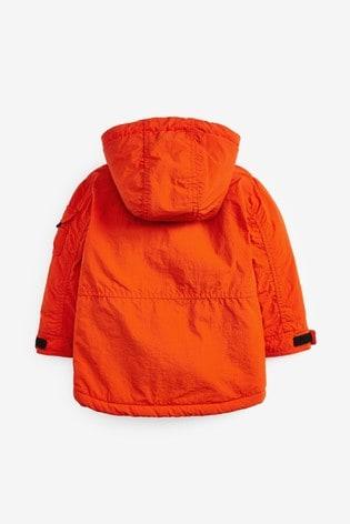Orange Utility Parka (3mths-7yrs)
