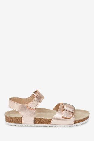 Rose Gold Corkbed Sandals (Older)