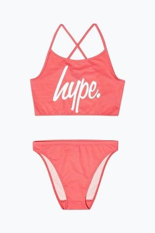 Hype. Pink Pool Bikini Set