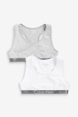 Calvin Klein Girls Customized Stretch Bralette Two Pack