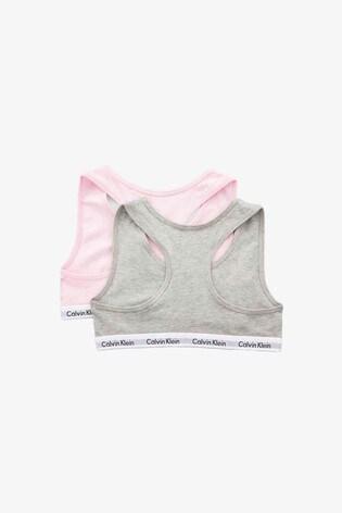 Calvin Klein Pink Bralette Two Pack