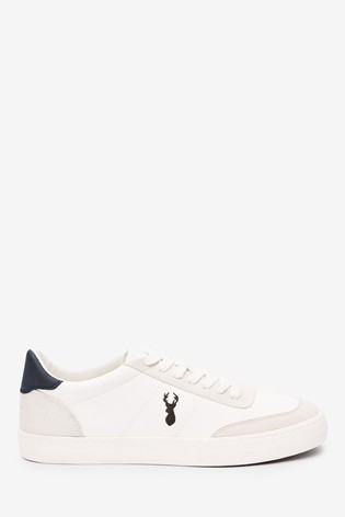 Buy White Faux Suede Pumps from Next USA