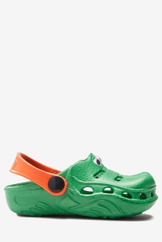 Green EVA Crocodile Clogs (Younger)