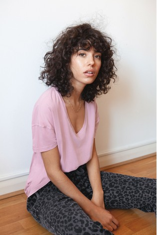 Pink Washed T-Shirt