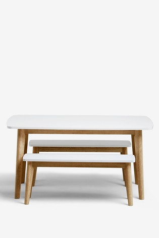 Theo 4 Seater Bench Set
