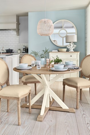 Adelaide 4 Seater Round Dining Table