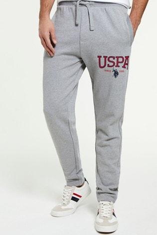 U.S. Polo Assn. Logo Joggers