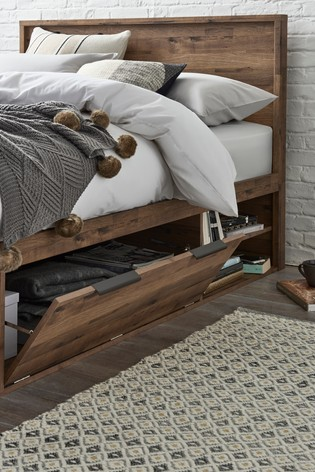 Bronx Platform Storage Bed