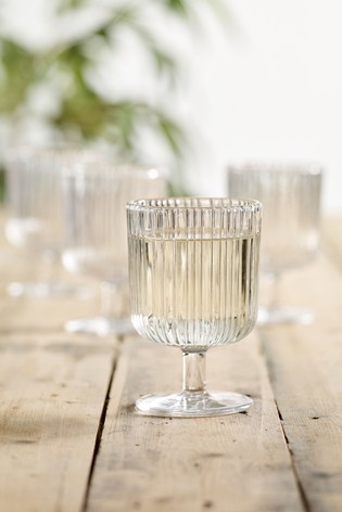 Set of 4 Malvern Set of 4 Wine Glasses