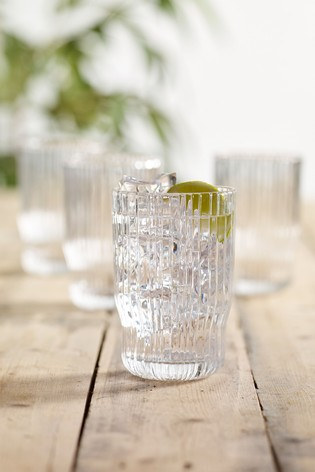 Set of 4 Malvern Set of 4 Tumbler Glasses