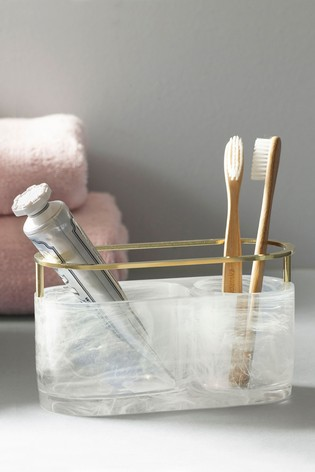Swirled Brush Holder