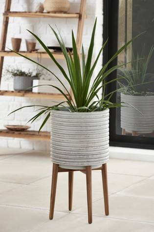 Large Plant Pot On Stand
