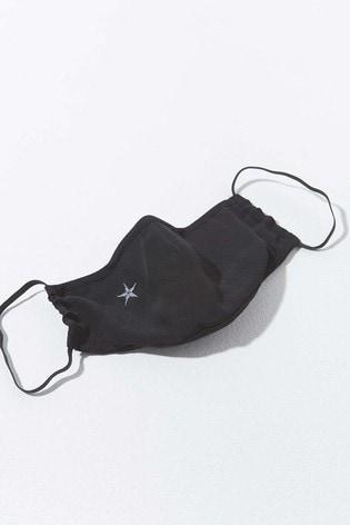 Mint Velvet Black Star Face Covering