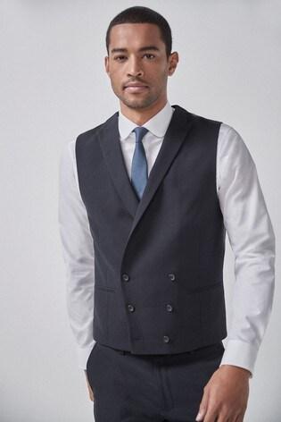 Navy Morning Suit: Waistcoat