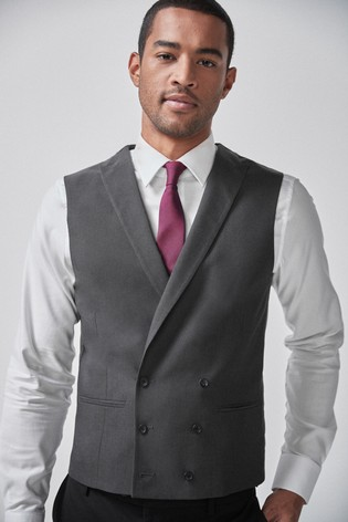 Charcoal Morning Suit: Waistcoat
