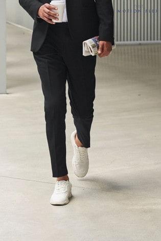 Black Trousers Motion Flex Slim Fit Suit