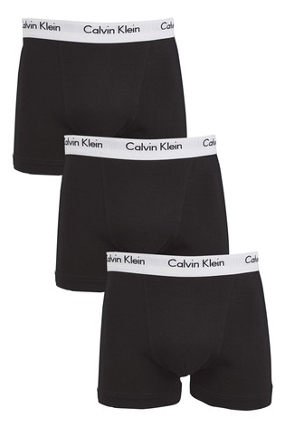 Calvin Klein Black Trunk Three Pack