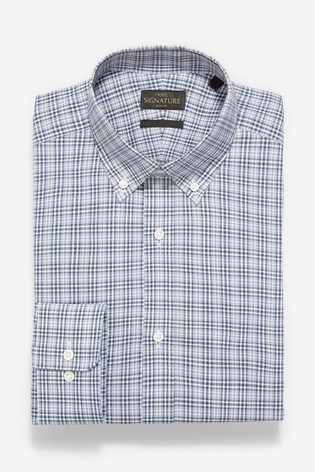 Stone Signature Check Slim Fit Shirt