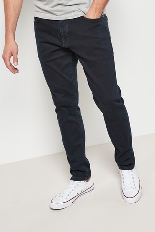 Dark Blue Skinny Fit Jeans With Stretch