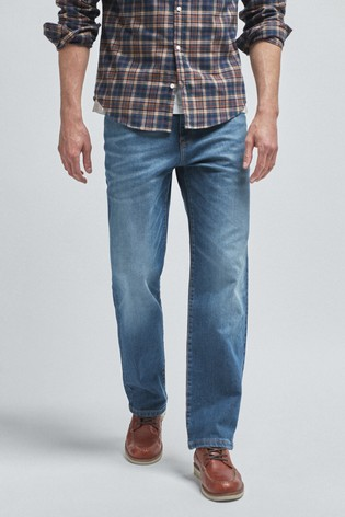 Light Blue Loose Fit Soft Touch Jeans With TENCEL™
