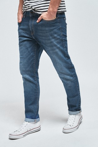 Light Blue Slim Fit Soft Touch Jeans With TENCEL™