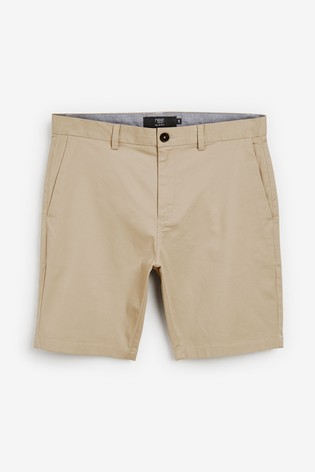Light Stone Slim Fit Stretch Chino Shorts