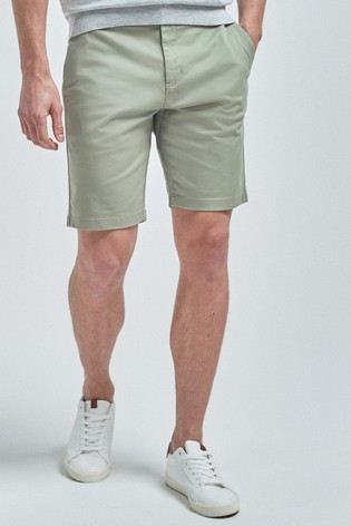 Sage Straight Fit Stretch Chino Shorts