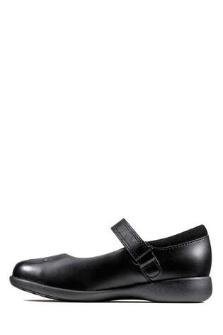 Clarks Black Etch Spark K Shoes
