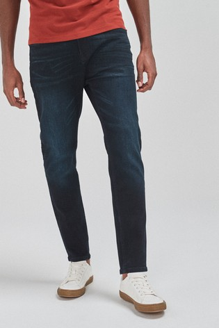 Ink Tapered Slim Fit Jeans With Stretch