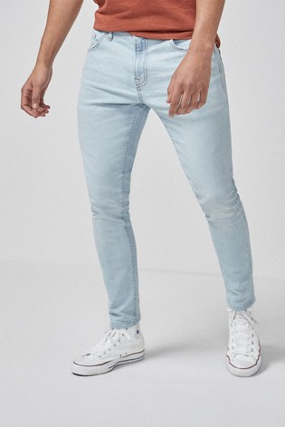 Bleach Slim Fit Jeans With Stretch