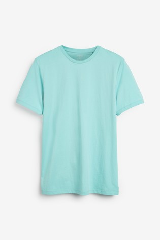 Aqua Regular Fit Crew Neck T-Shirt