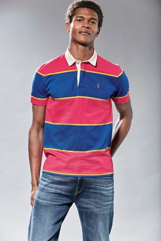 Red/Navy Stripe Rugby Shirt