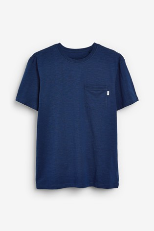 Navy Slub T-Shirt