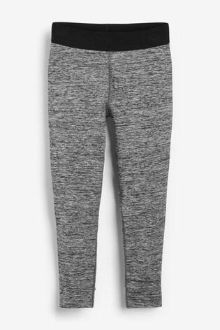 Dark Grey Marl Sports Leggings (3-16yrs)