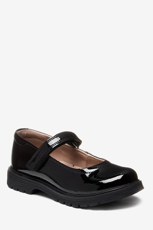 Buy Black Patent Leather Chunky Mary