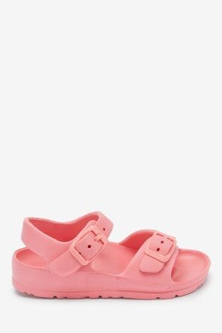 Pink EVA Buckle Sandals (Younger)
