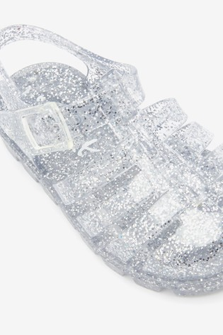 Buy Glitter Jelly Sandals (Younger