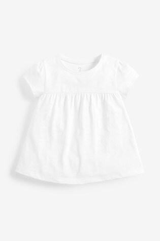 Ecru GOTS Organic Cotton T-Shirt (3mths-7yrs)
