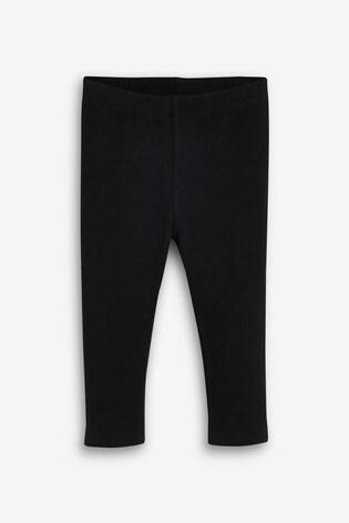 Black Soft Touch Leggings (3mths-7yrs)