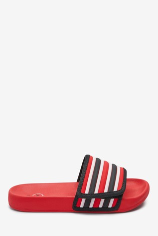 Red Touch Fastening Stripe Sliders (Older)