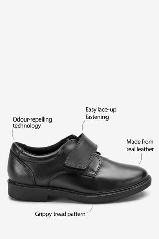 Buy Black Leather Smart Shoes (Older