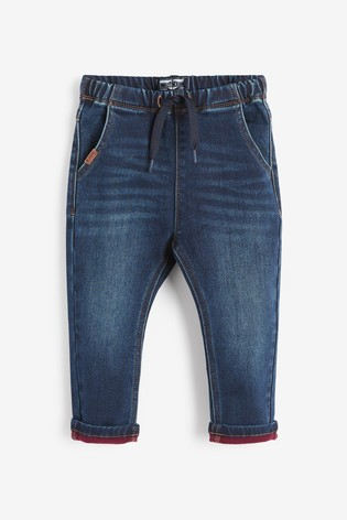 Indigo Super Soft Pull-On Jeans With Stretch (3mths-7yrs)