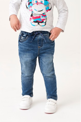 Mid Blue Jogger Jeans (3mths-7yrs)