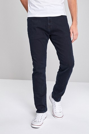 Dark Blue Slim Fit Jeans With Stretch