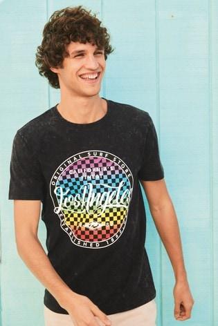 Black LA Graphic T-Shirt