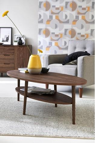 Oslo Walnut Coffee Table