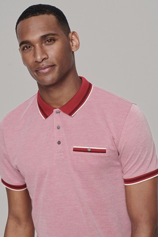 Pink Soft Touch Smart Regular Fit Polo