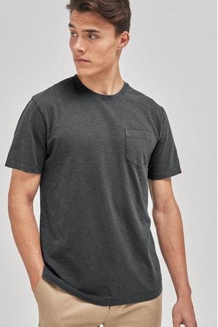 Charcoal Regular Fit T-Shirt